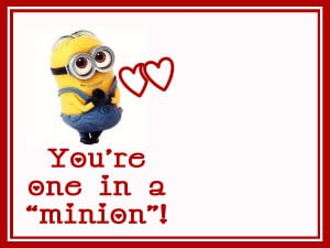 picture relating to You Re One in a Minion Printable identify Working day #5: Youre One particular Inside of A Minion! - Summer time Adams