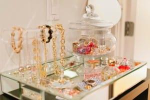 jewelry tray display