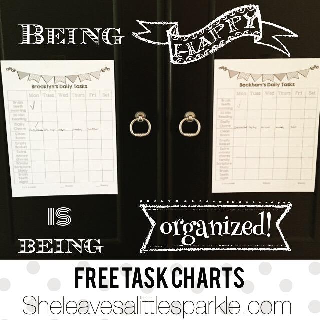 Daily Task Charts
