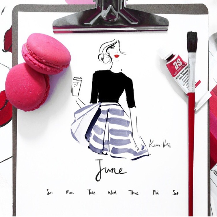 Kerrie Hess June Calendar