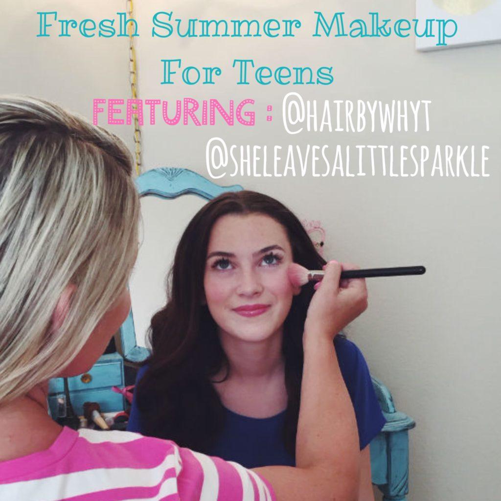 Summer Makeup for Teens