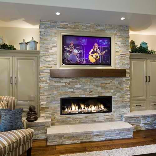 Decorating Ideas For Fireplace Mantel With Tv Above from summeradams.com