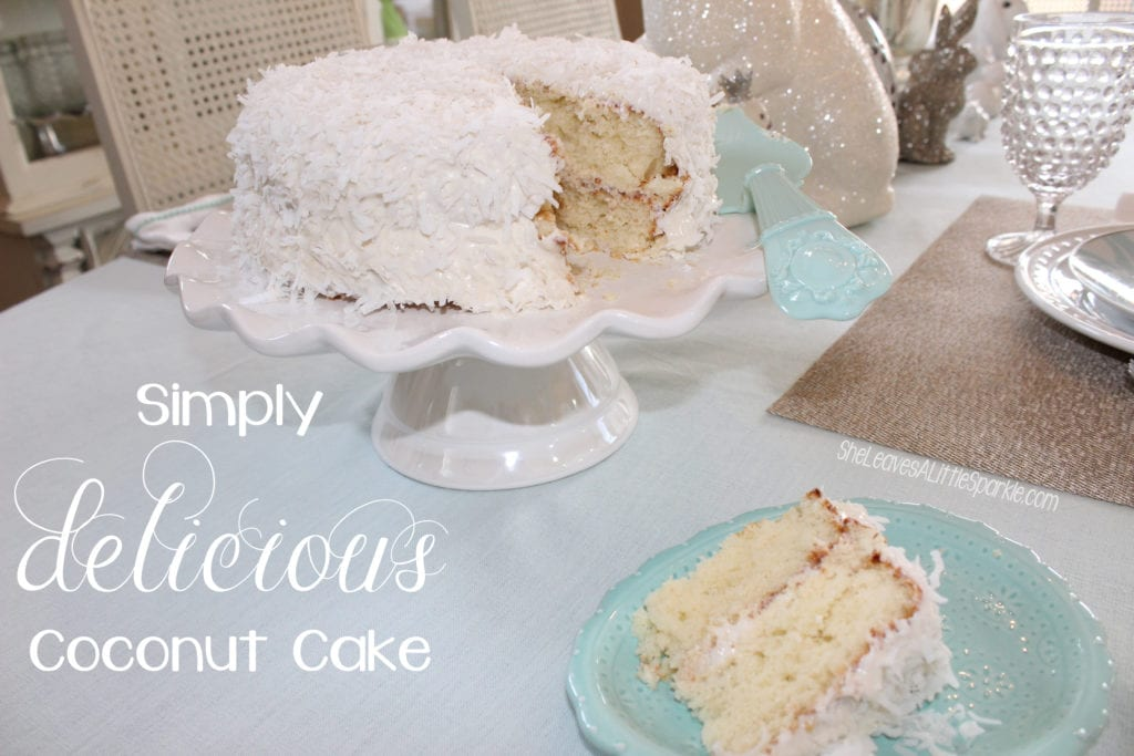 Simply Delicious Coconut Cake