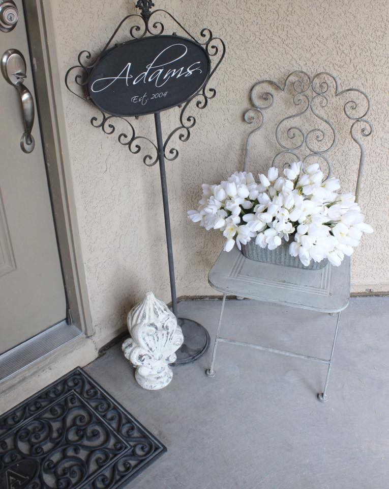 front door spring home tour home decor