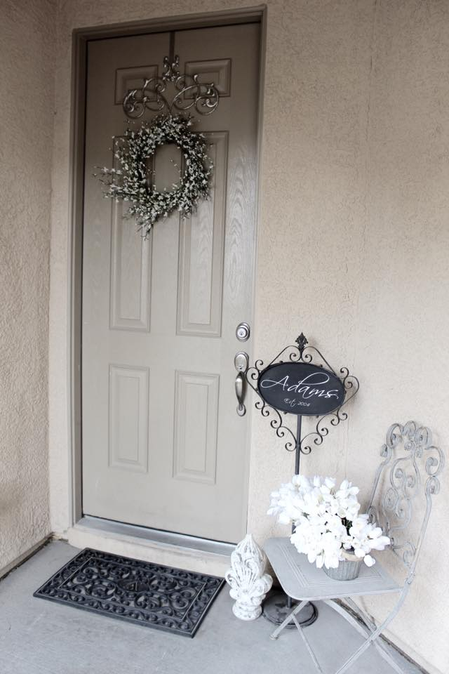 front door entrance spring home tour designer blogger home decor