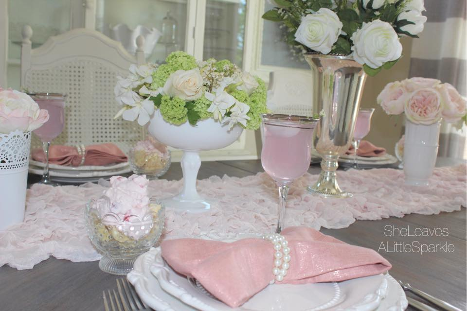 mothers day tablescape brunch blush bow napkins blog hop bow napkins audrey hepburn kate spade inspired cheers to mom