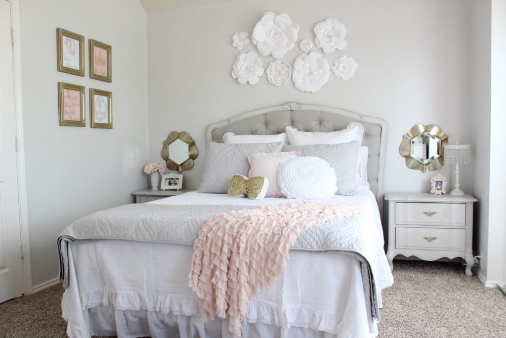 Admirable Tween Girl Bedroom Makeover Summer Adams Beutiful Home Inspiration Truamahrainfo