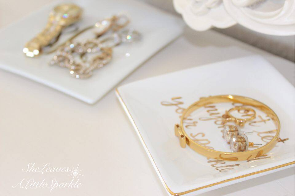 adding glam boudoir blog hop bedroom home decor she leaves a little sparkle jewelry dish