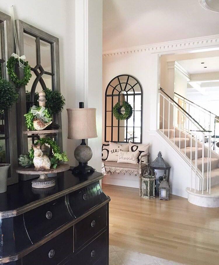 Entering Julie's Home