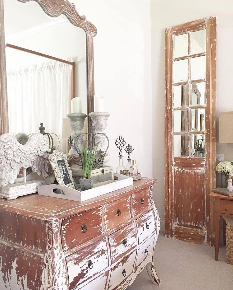 Julie has truly found some fabulous rustic, vintage-style pieces.