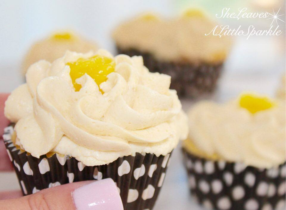 advice for my daughter Lemon Cream Cupcakes