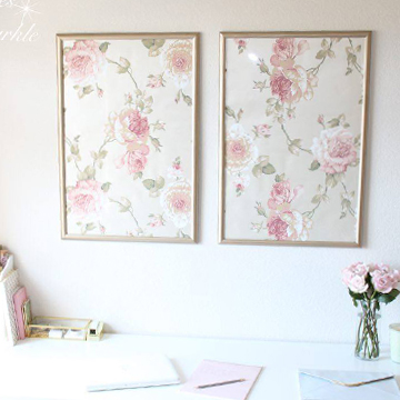 Framed Wallpaper Panels