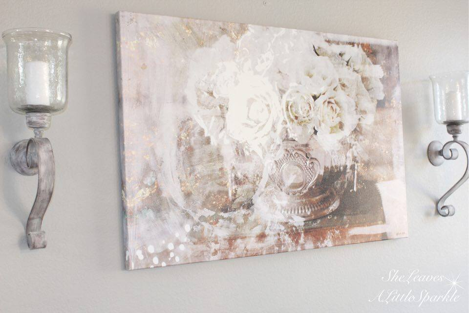 living room tour part 1 oliver gal canvas art serving roses fashion art