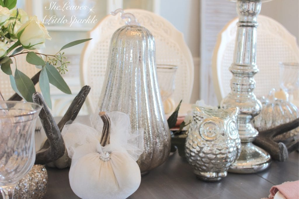 autumns in the air blogger home decor fall tour chic glam fall decor