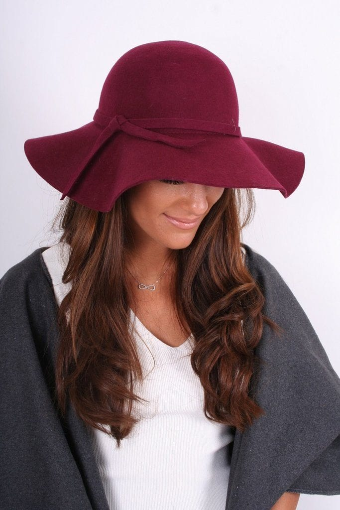 fall accessories you'll love wool floppy hat