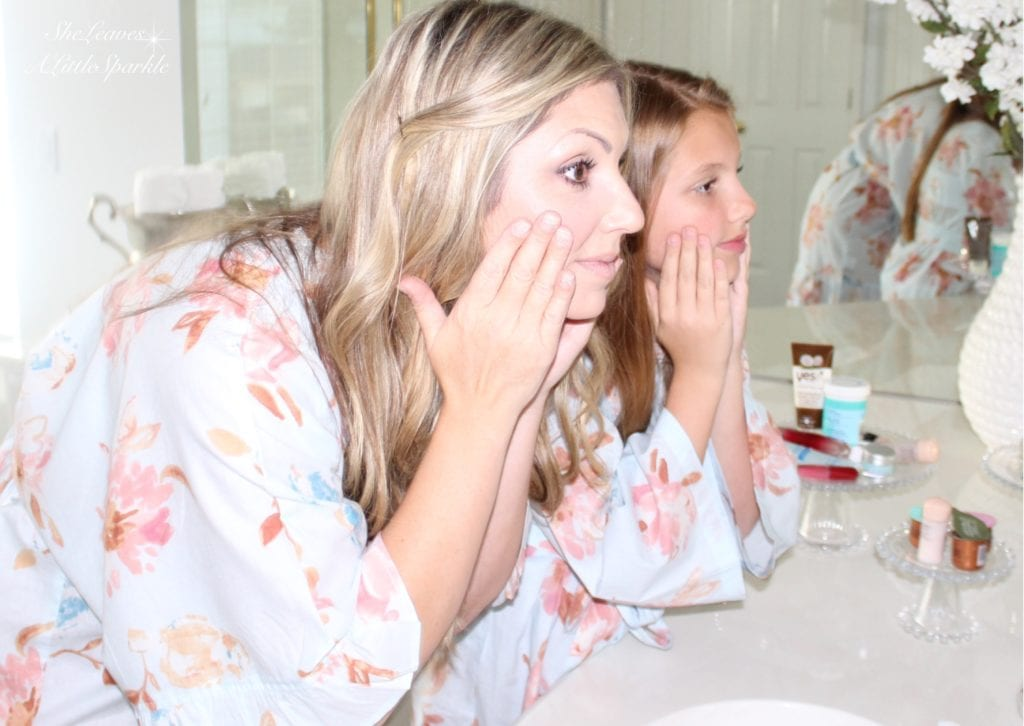 advice for my daughter skin care