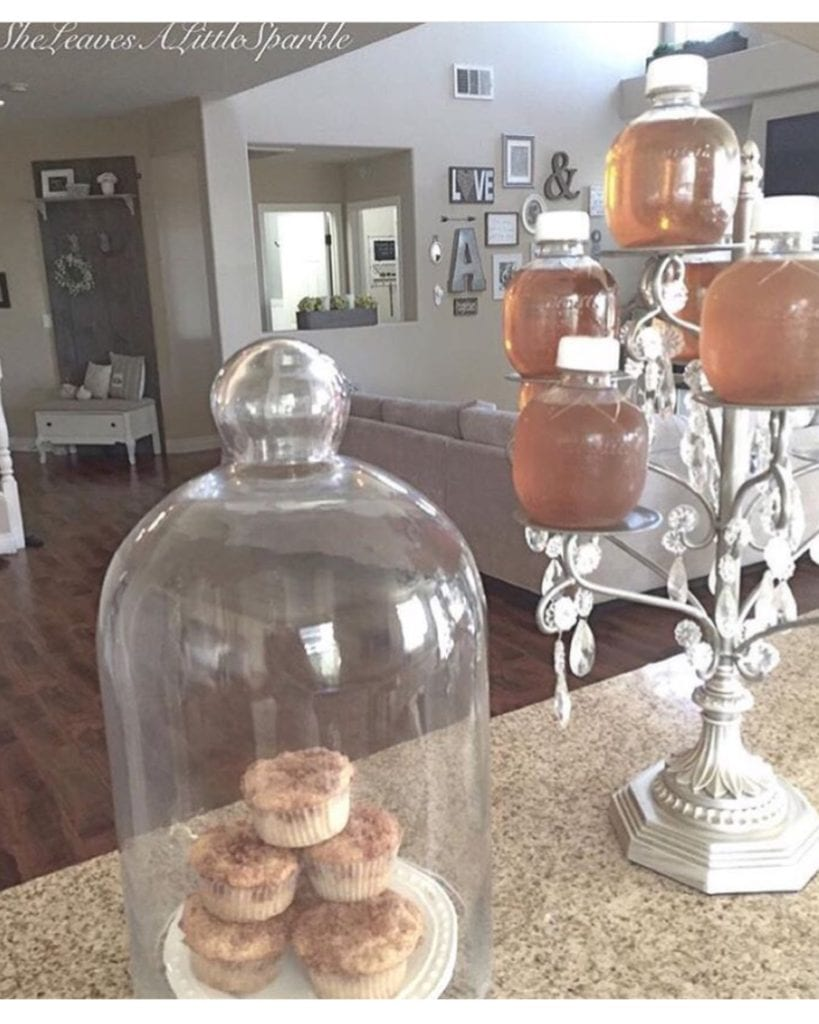 advice for my daughter first day of school muffins apple juice served fancy