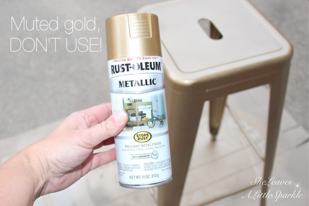 adding gold and brass to my kitchen