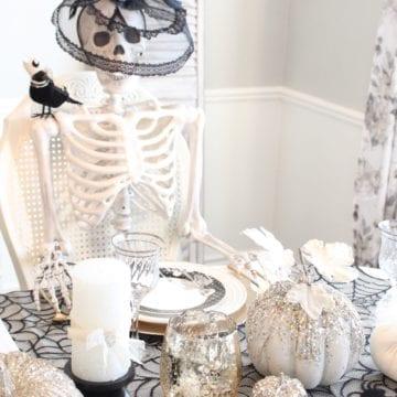 Spooky Glam Halloween Table