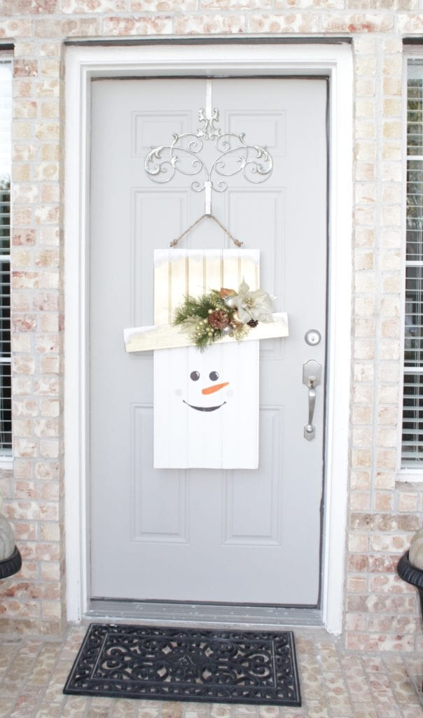 Home Depot #DIHWorkshop Seasonal Character Door Hanger