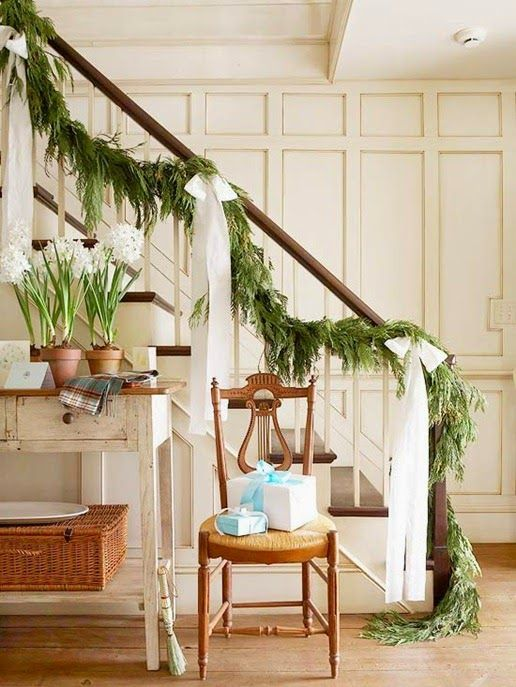 how to hang garland on your banister fresh green evergreen cypress pine garland home depot nursery fresh diy christmas holiday garland