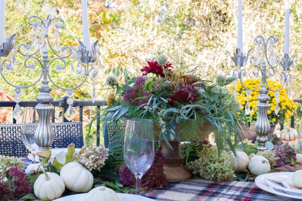 five ways to set a perfect thanksgiving table