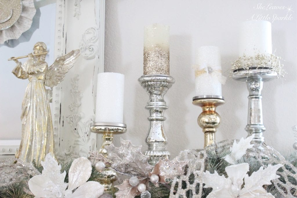 Adding Glam To Christmas Decor