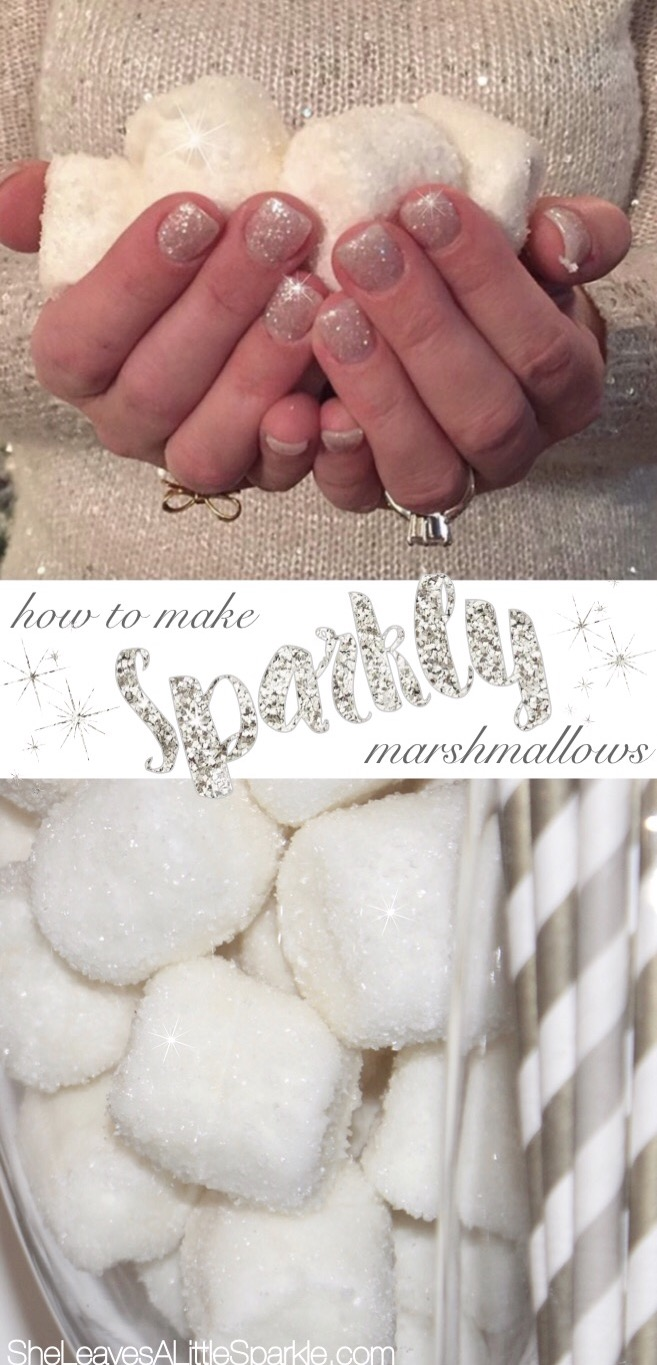 How To Make Sparkly Marshmallows