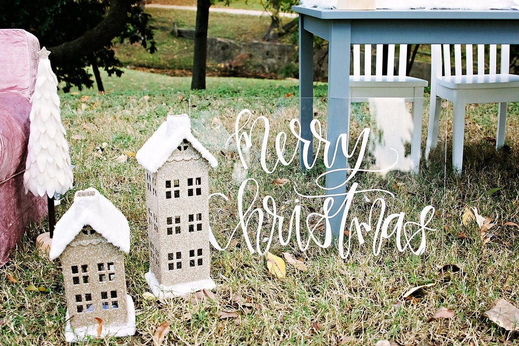 Winter Wonderland Party with Pottery Barn Kids