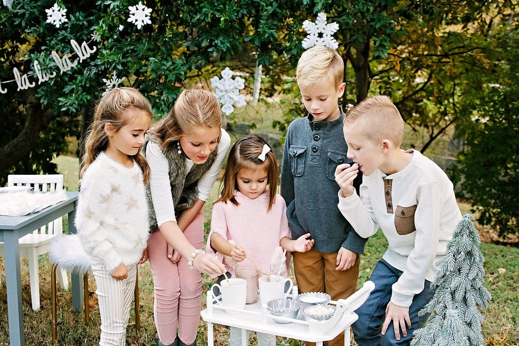 Winter Wonderland Kids Party with Pottery Barn Kids