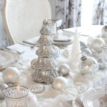 Adding Glam To Christmas Decor