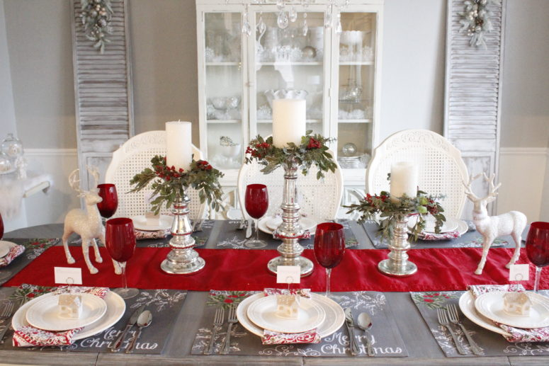 Seven Gorgeous Christmas Tablescape Ideas