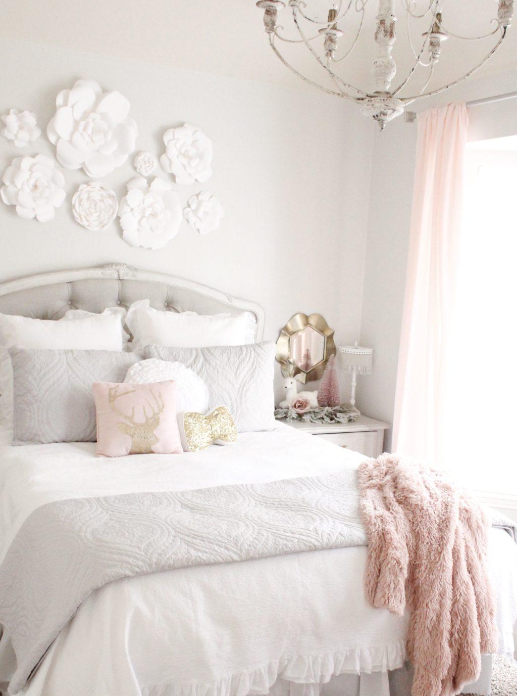 christmas bedroom decor  summer adams