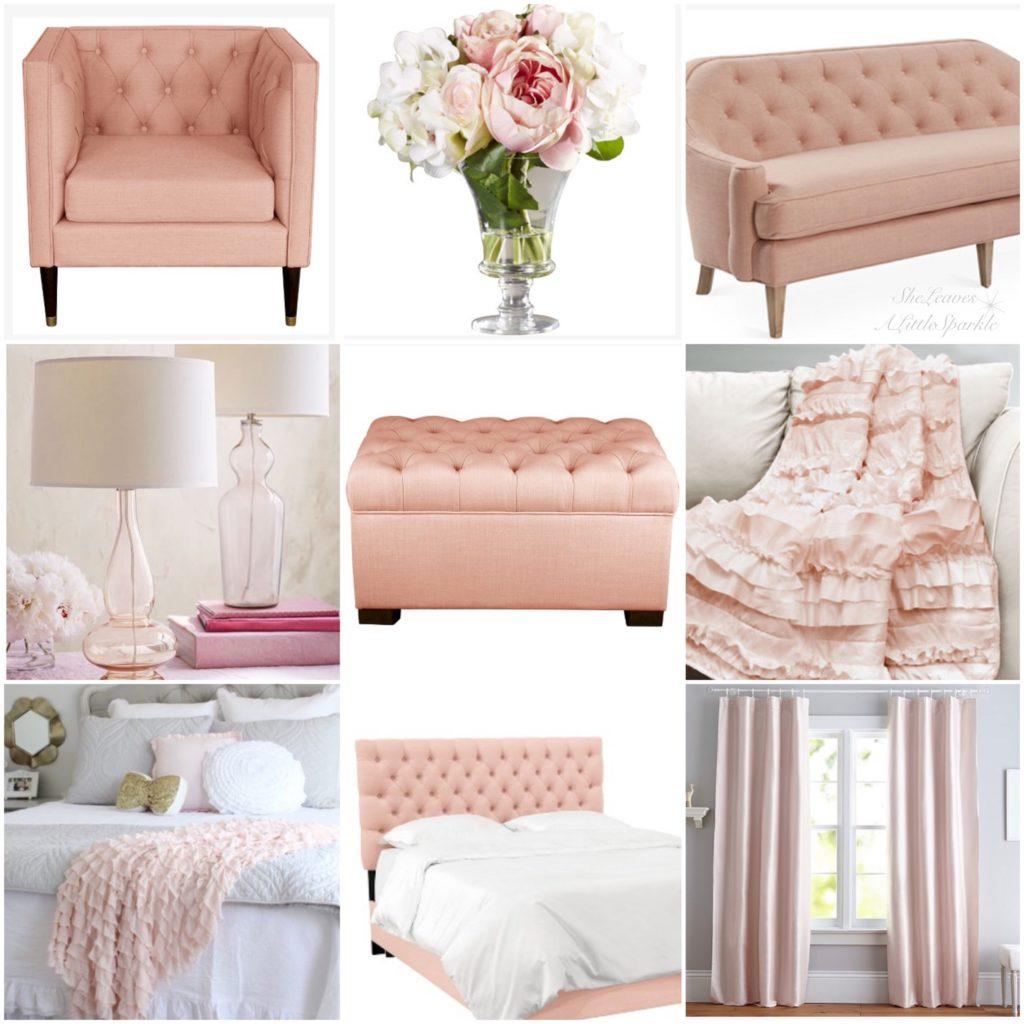 Blush furniture decor summer adams