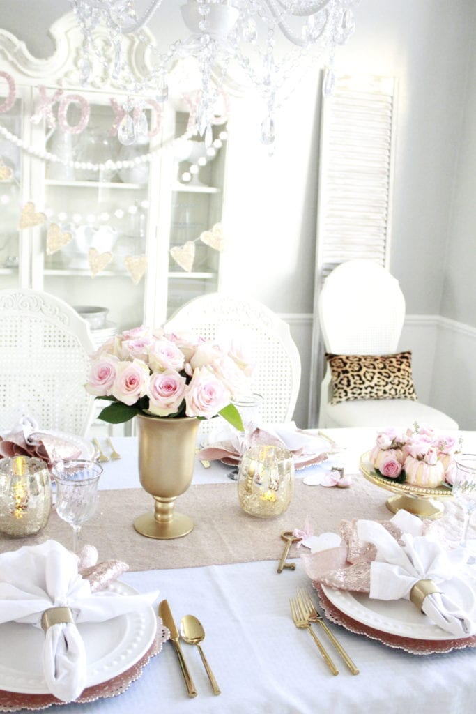 tips for classy valentine's decor