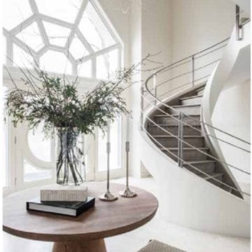 "Bright White Home by Anthony Michael Interior Design ""Lincolnshire Project"""