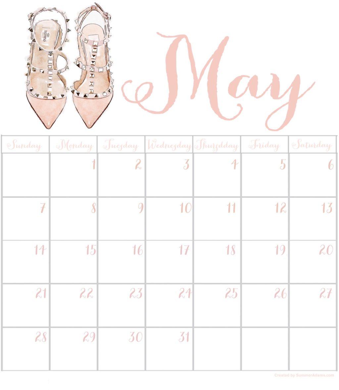 Prime Free May 2017 Printable Calendar Summer Adams Download Free Architecture Designs Scobabritishbridgeorg