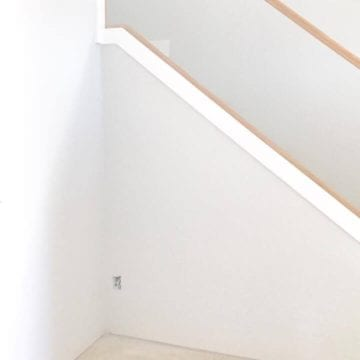The Perfect Interior Paint Color & A House Sneak Peek