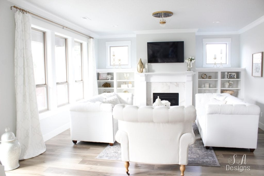 Summer Adams & Welcome To Our Bright White Living Room - Summer Adams
