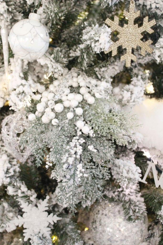 3 Foot White Christmas Tree
