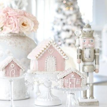 My Pink Christmas Kitchen