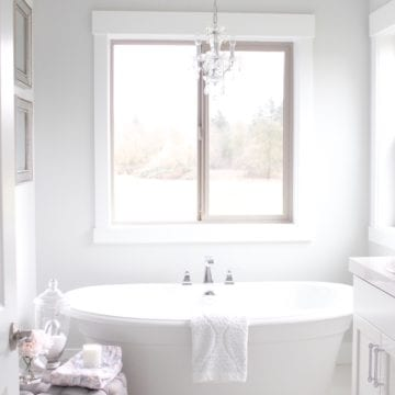 Tranquil Glam Master Bathroom Tour