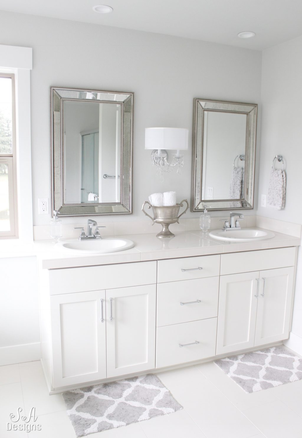 For my entire post on our Master Bathroom, please click HERE.
