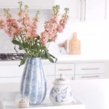 Blush & Blue Easter Table & Kitchen