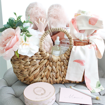 How To Create A Luxurious Relaxation Gift Basket For Mothers Day