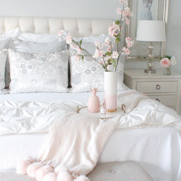 Master Bedroom Summer Refresh