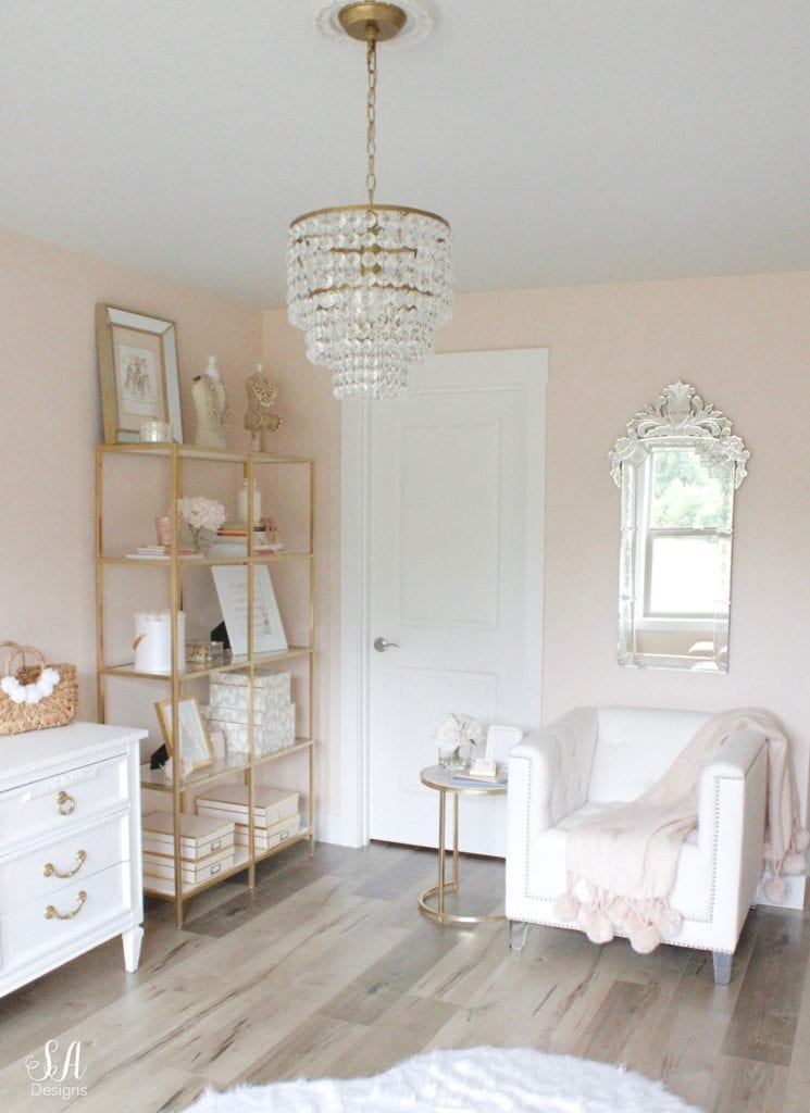 hgtv home by sherwin williams paint romance at 50 percent ikea vittsjo hack venetiam mirror glam style office
