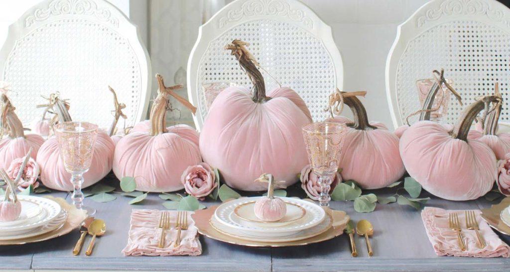 SLIDER Blush pumpkins table2