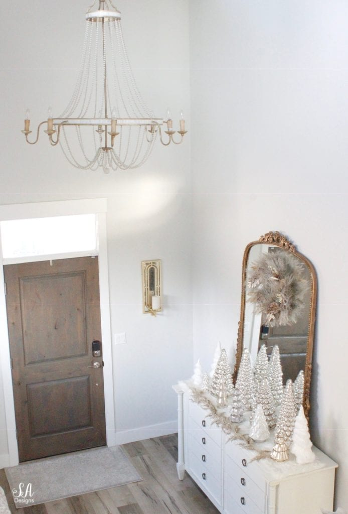 bellacor gabby home corinna champagne silver chandelier