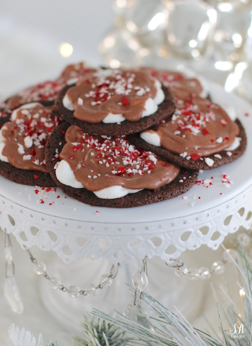 Ooey Gooey Chocolate Marshmallow Cookie Recipe